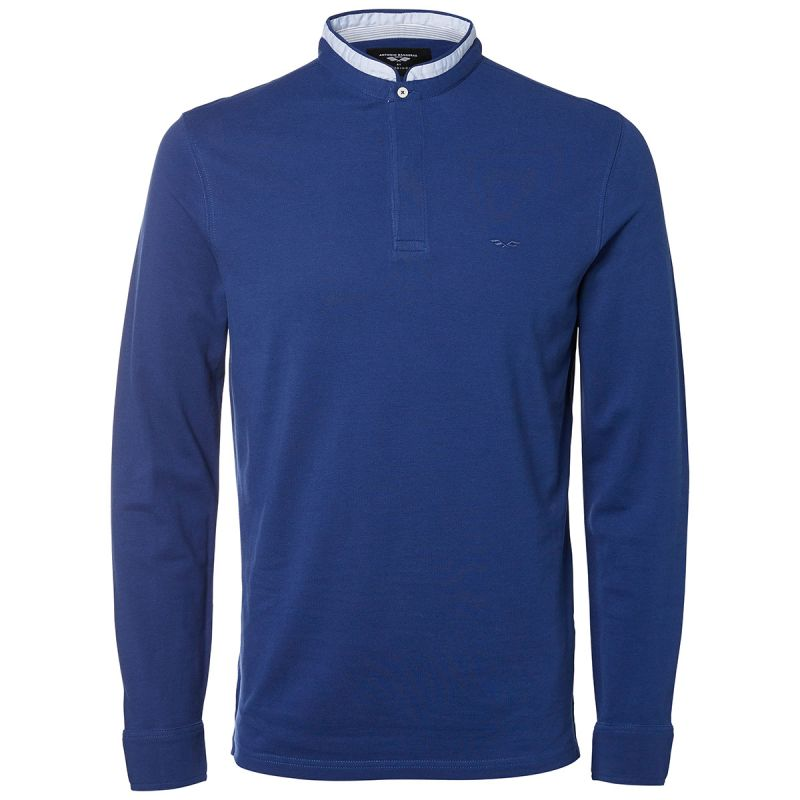 Selected polo azul