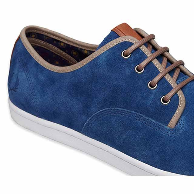 Fred Perry zapato azul
